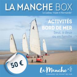 Manche Box activités bord de mer seul, à deux ou en famille