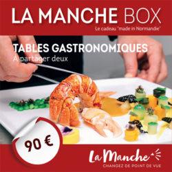 Manche box tables gastronomique à partager à deux