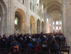 Visite guidée de l'abbaye de Lessay