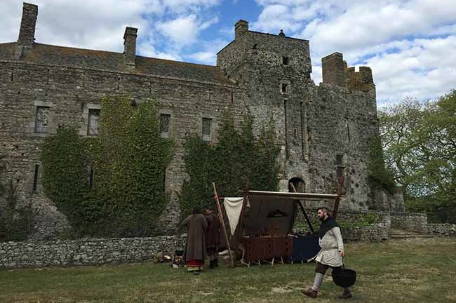 Marché viking et médiéval au Château fort de Pirou