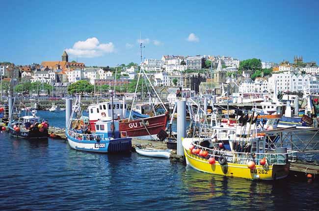 Petit port de pêche à Guernesey
