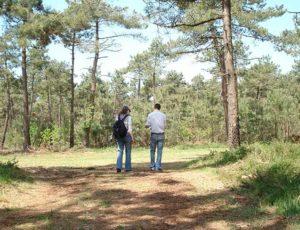 Balade entre amis dans les landes de Lessay