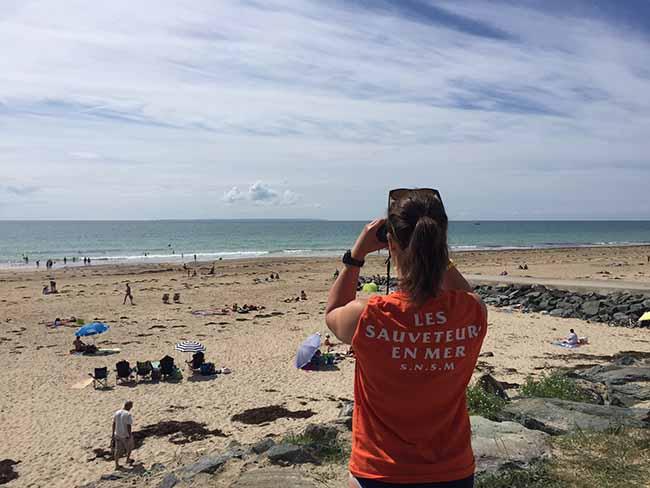 La SNSM veille sur les vacanciers l'été sur les plages
