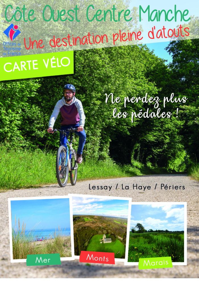 couverture carte vélo