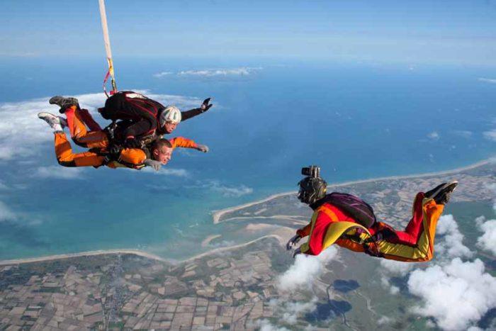 parachutisme lessay