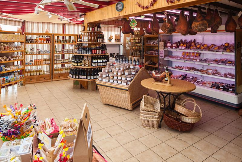 boutique du terroir Les jambons de Lessay
