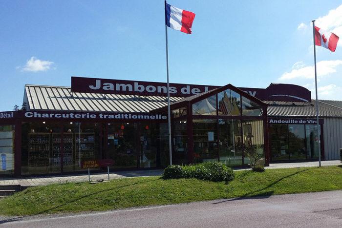 Lessay-Les-Jambons-de-Lessay-magasin-vue-exterieure