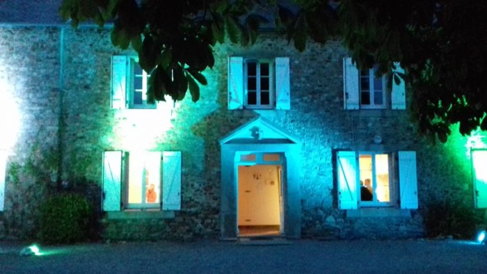 Pierres en lumières à Pirou Bourg