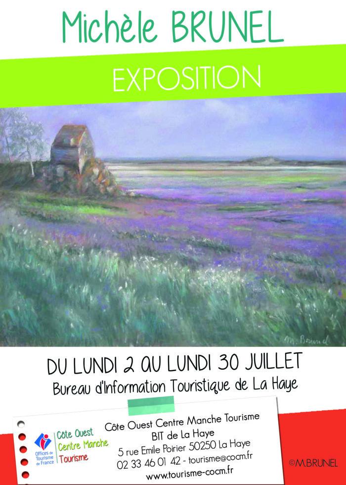 affiche-exposition-BRUNEL-LA-HAYE